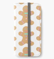 Gingerbread biscuit iPhone Wallet/Case/Skin