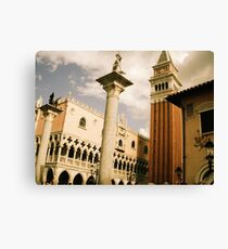 Italy - Epcot Canvas Print