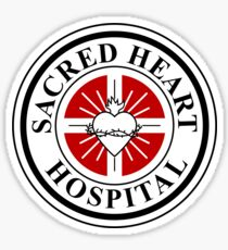 Sacred Heart Hospital- Scrubs  Sticker