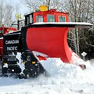 Snow Plow by Debbie Stobbart