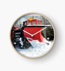 Snow Plow Clock