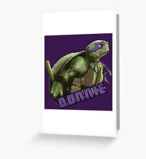 Donnie VS the world Greeting Card