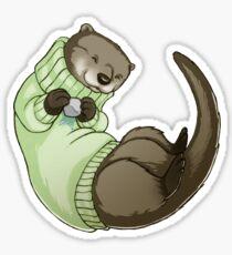 Sweater Otter Sticker