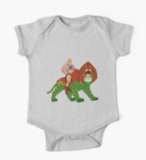 He-man and BattleCat Filmation Style Kids Clothes
