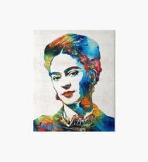 Frida Kahlo Art - Viva La Frida - By Sharon Cummings Art Board