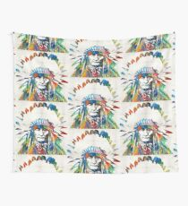 Native American Art - Chief - By Sharon Cummings Wall Tapestry