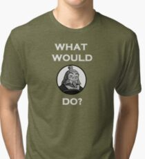 What Would Iroh Do? Tri-blend T-Shirt