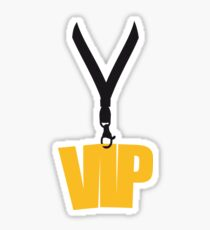 gold pendant badge tag necklace friends team logo member vip person important especially party shirt design motif cool celebrate boss Sticker