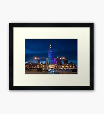 Palace of Culture and Science Framed Print