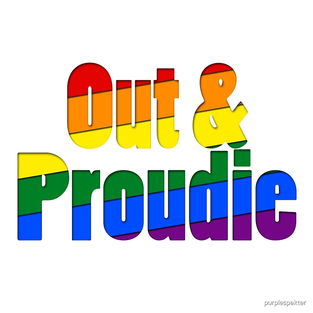 Out & Proudie by purplespekter