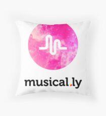 tumblr musical.ly Throw Pillow
