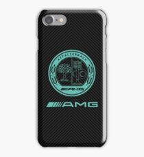 AMG carbon case iPhone Case/Skin
