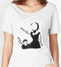 Neutral Milk Hotel Stencil Women's Relaxed Fit T-Shirt