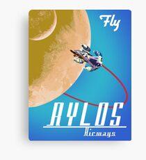 Rylos Airways Canvas Print