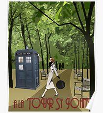TARDIS Travel Poster