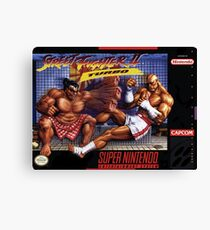 Street Fighter II Canvas Print