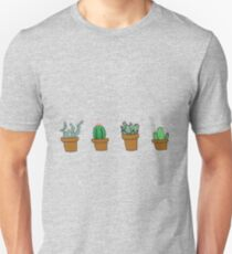 cactus hipster drawing Unisex T-Shirt