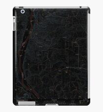 USGS TOPO Map Arkansas AR Bethesda 20110728 TM Inverted iPad Case/Skin