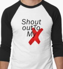 Shout out to my X - Little mix Men's Baseball ¾ T-Shirt
