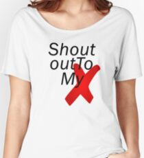 Shout out to my X - Little mix Women's Relaxed Fit T-Shirt