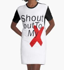 Shout out to my X - Little mix Graphic T-Shirt Dress