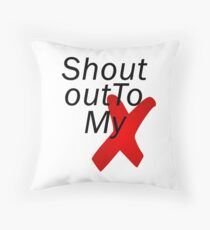 Shout out to my X - Little mix Throw Pillow