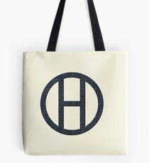 Hipster Black Tote Bag