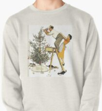 Norman Rockwell Christmas Tree Pullover