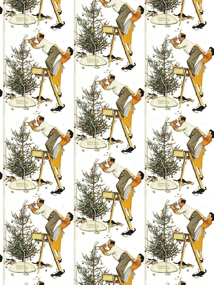 Norman Rockwell Christmas Tree by hilol - Norman Rockwell Christmas Tree