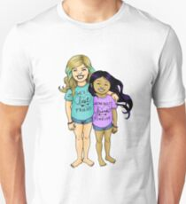 Gracie & Alba - Purple Unisex T-Shirt