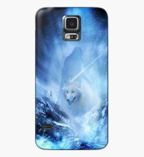 Jon Snow and Ghost - Spiel der Throne - Der Winter ist da Hülle & Skin für Samsung Galaxy