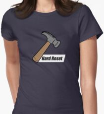 Hard Reset Women's Fitted T-Shirt
