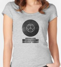 DODECAHEDRON-CONSCIOUSNESS Women's Fitted Scoop T-Shirt