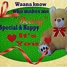 Beary Special Card  by Ann12art