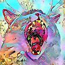 Rainbow Cat #3 by WelshPixie