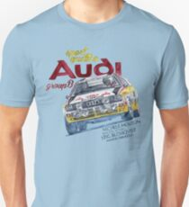 Rally Group B-Audi Sport Quatro T-Shirt