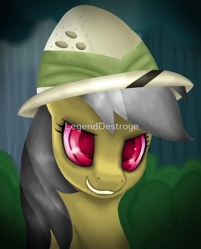 Daring Do Portrait (With Hat) by LegendDestroye