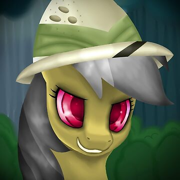 Daring Do Portrait (With Hat) by LegendDestroye
