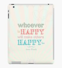 Happy iPad Case/Skin