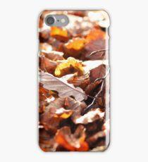 Herbstlaub, Herbstfarben iPhone Case/Skin