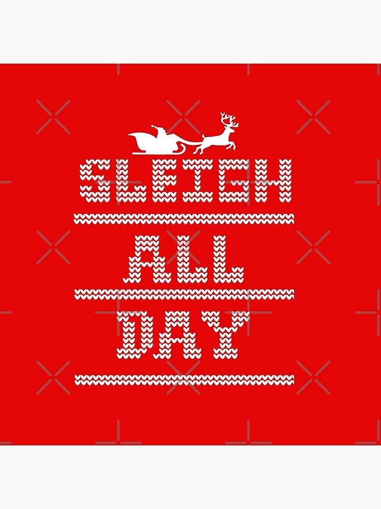Weihnachten - Schlitten den ganzen Tag von mymainmandeebo