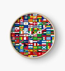The World's Flags Clock