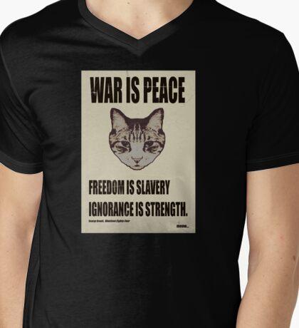 Orwellian Cat Says War Is Peace T-Shirt