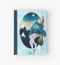 Festive Atlantic Cod Pinup Hardcover Journal