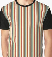 Multi Vertical Stripes in trendy colours Graphic T-Shirt