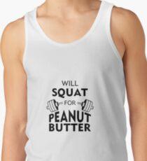 Will Squat For Peanut Butter Men's Tank Top