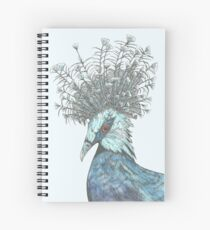 Crowned Pigeon  Spiral Notebook