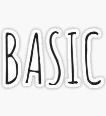 Pegatina BASIC