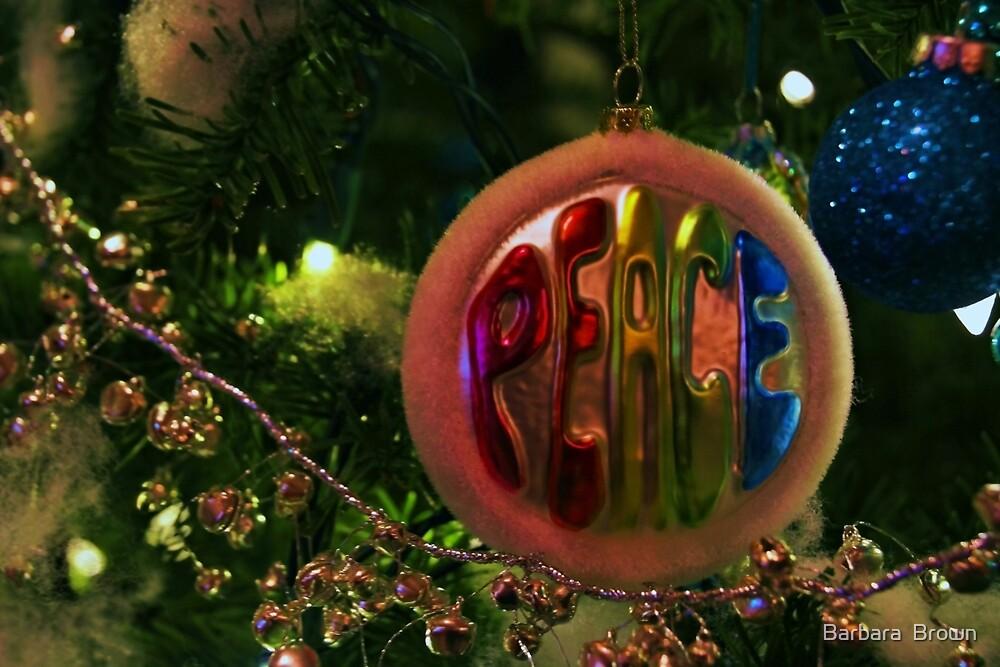 A Christmas Wish by Barbara  Brown