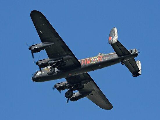 Avro Lancaster B.1 PA474 HW-R by Colin Smedley